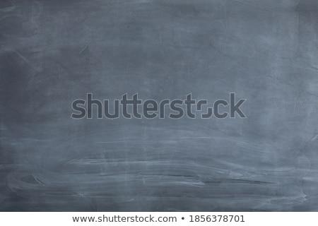 Escrito lousa giz mão natureza educação Foto stock © alexandrenunes