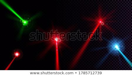 lamp light lens set on transparent dark Stock photo © romvo