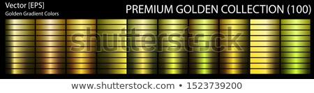 огромный коллекция закрывается золото медь градиенты Сток-фото © SArts