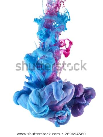 Color caída subacuático seda tinta nube Foto stock © vlad_star
