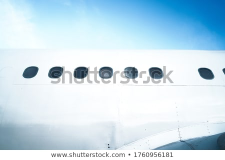Businessman exiting private jet Stock photo © IS2