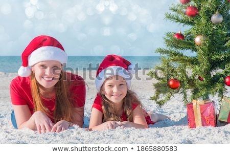 Santa Claus Costume mom_travel Stock photo © toyotoyo
