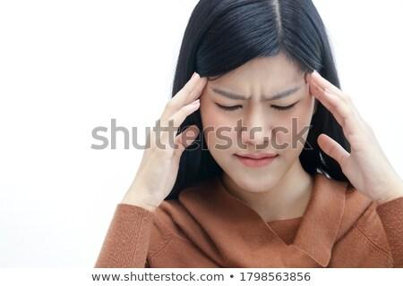 Médico ayudar joven ojo lesión ilustración Foto stock © bluering