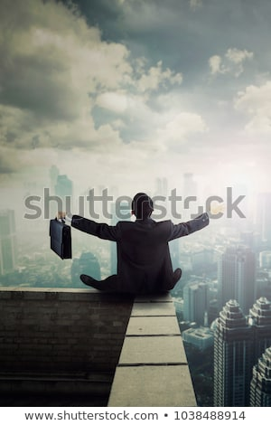 empresário · invisível · isolado · branco - foto stock © feedough