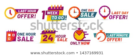 Special Discount Promotion Set Vector Illustration Stock photo © robuart