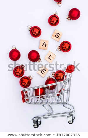 Christmas Sale, Winter Discounts to Customers Stock photo © robuart