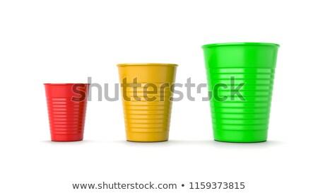 Сток-фото: размер · красный · желтый · зеленый · пластиковых