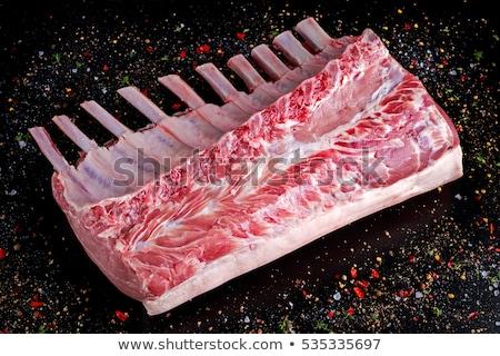 Сток-фото: свежие · сырой · частей · свинина