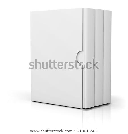 3D · livre · couvrir · isolé · blanche · travaux - photo stock © djmilic