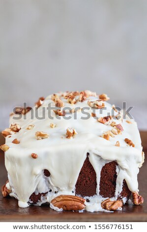 Fresh Cranberry Sweet Bread with Pecans and White Chocolate Cand Stock photo © StephanieFrey