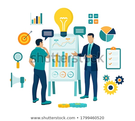 Negócio seminário treinamento empresário reunião de negócios parceria Foto stock © robuart