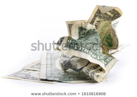 dollár · szemét · konzerv · 3D · renderelt · illusztráció - stock fotó © paha_l