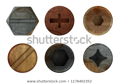 The old nut and bolt stock photo © vtorous
