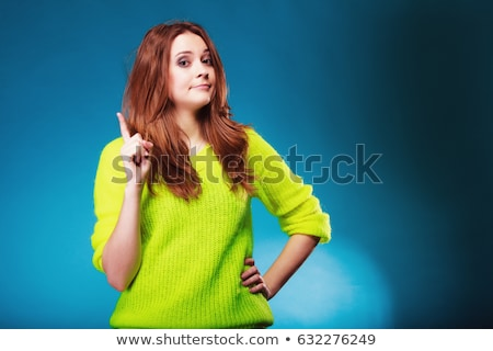 Woman wagging her finger Stock photo © photography33