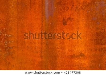 rusty metal, Hangar Stock photo © zeffss