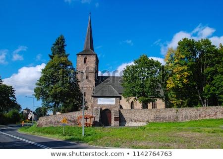 torre · portão · Polônia · casa · edifício · arquitetura - foto stock © phbcz