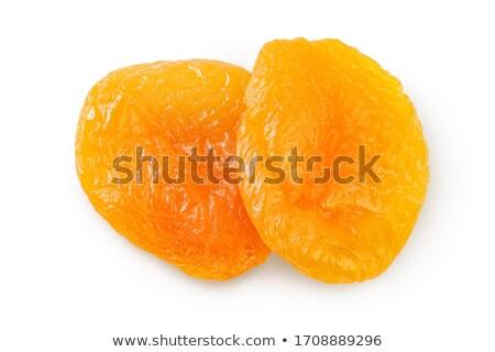 два сушат продовольствие фрукты цвета белый Сток-фото © Dionisvera