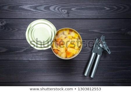 Ciężki syrop naleśniki truskawki ilość klon Zdjęcia stock © stevemc