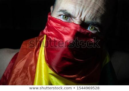 Anti fascist flag Stock photo © stevanovicigor