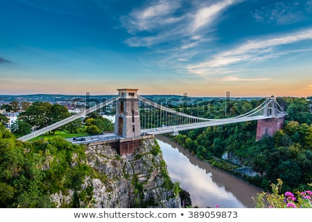 Clifton Suspension Bridge.  Stock photo © pixelmemoirs