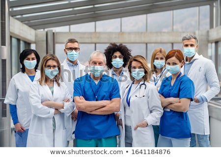 Stok fotoğraf: A Team Of Medical Professionals