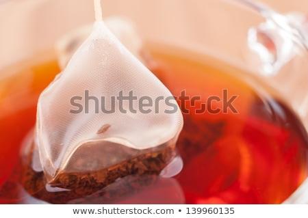 çay çanta doğa cam sağlık Stok fotoğraf © rufous