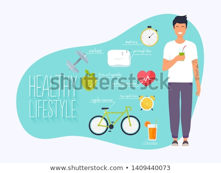 Leading a healthy lifestyle Stock photo © photography33