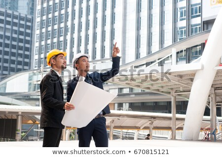 foreman posing in construction site stock photo © photography33