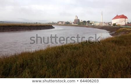The Petitcodiac River Stock photo © ca2hill