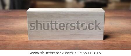 reservetion wood board Stock photo © Witthaya