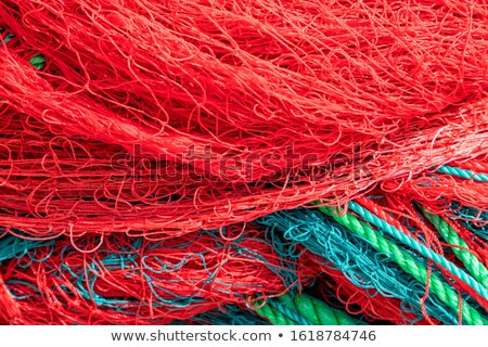 Fishing twine and ropes Stock photo © speedfighter