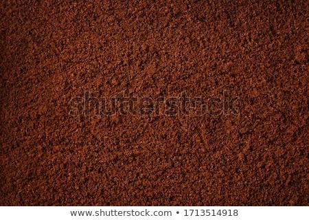 ground coffee background stock photo © mironovak