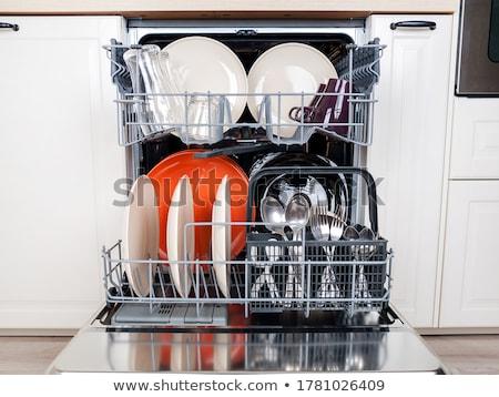 dishwasher machine  Stock photo © jonnysek