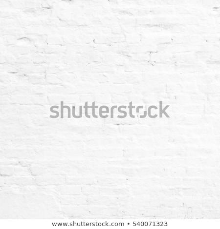 Vintage white background brickwall Stock photo © H2O