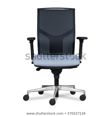 Ofis koltuğu ofis sandalye siyah müdür yol Stok fotoğraf © cheyennezj