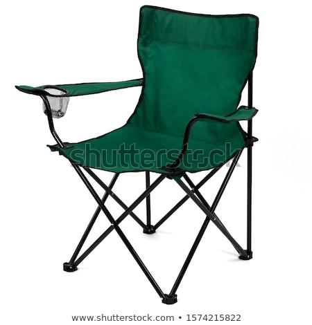camping · muebles · aislado · estudio · playa - foto stock © snyfer