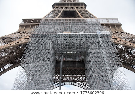 eiffel tower lower part paris france stock photo © photocreo