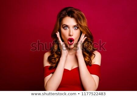 Csábító nő hihetetlen szemek hölgy szeretet Stock fotó © konradbak