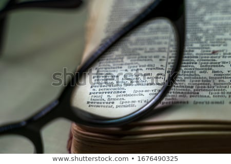 Editorial  Dictionary Definition Stock photo © chris2766
