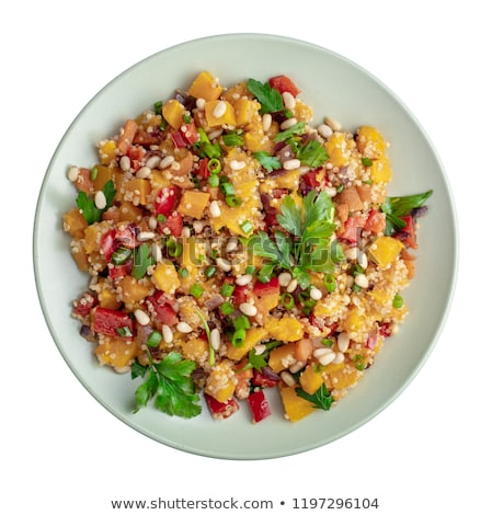 kabak · salata · tava · gıda · depolamak · kırmızı - stok fotoğraf © Catuncia