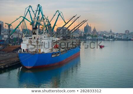 Batumi port Stock photo © joyr