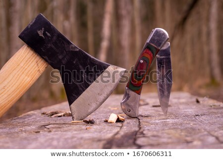 Stock photo: sharp tool