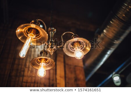 Low angle view of a chandelier Stock photo © bmonteny