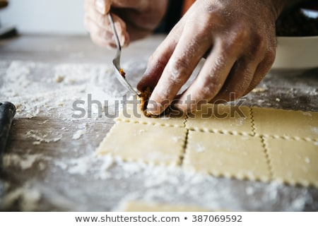 raviolis italian cuisine stock photo © karammiri