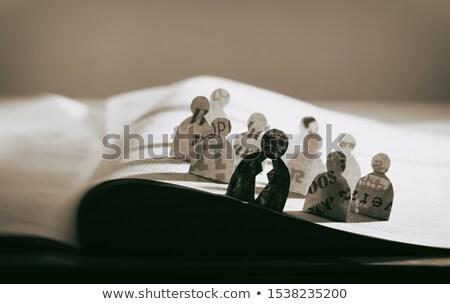 Human Resources Manager  Vacancy in Newspaper. Stock photo © tashatuvango