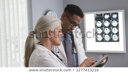 Two medical colleagues Stock photo © photography33