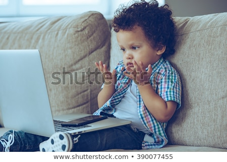 путать ребенка портрет ребенка Сток-фото © tangducminh