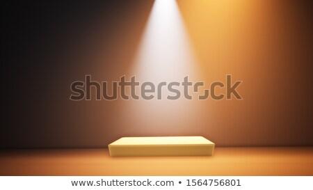 Stock fotó: Színpad · fények · kép · világítás · effektek