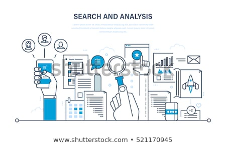 analysis and searching stock photo © robuart