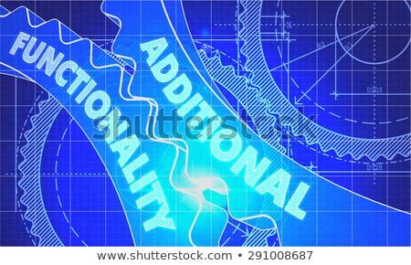 план стиль механизм технической иллюстрация Сток-фото © tashatuvango